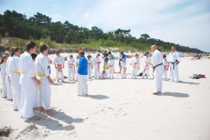 Letni obóz sportowy Karate Kyokushin - Dźwirzyno 2013