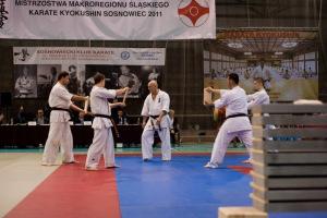 Mistrzostwa Makroregionu Śląskiego Karate Kyokushin - Sosnowiec 2011