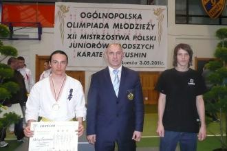 Mistrzostwa Polski Juniorów Młodszych w Karate Kyokushin - Łomża 2011