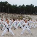 Dźwirzyno - trening na plaży