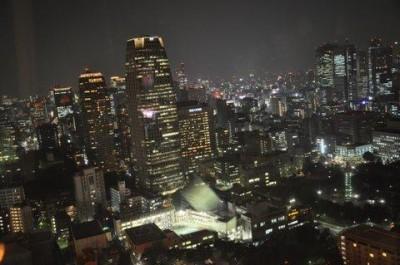 Tokyo - nocna panorama z wysokości 250m