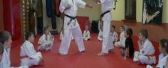 zakończenie zimowej akademii karate